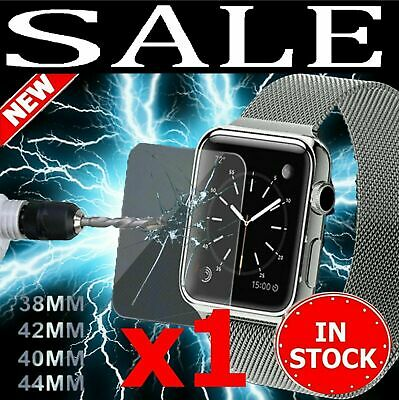 AU3.95 • Buy Screen Protector For Apple Watch Series 1/2/3/4/5 38/42mm 40/44mm IWatch