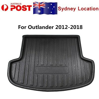 AU30.96 • Buy Rear Trunk Floor Mat, Cargo Boot Liner For Mitsubishi Outlander 5 Seater 2012-20