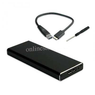 AU13.13 • Buy M.2 NGFF SSD SATA TO USB 3.0 External Enclosure Storage Case Adapter Aluminium