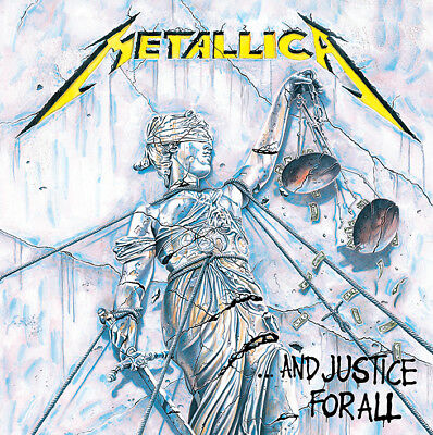Metallica - And Justice For All - 40cm X 40cm Album Cover Canvas Print DC95985C • 12.99£