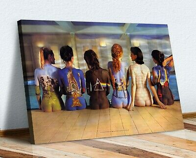 £33.99 • Buy Pink Floyd Back Catalogue Painted Women Canvas Wall Art Picture 30mm Deep Framed