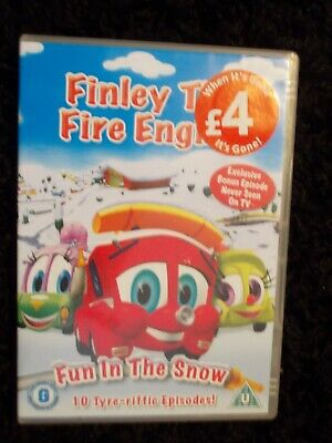 Finley The Fire Engine, Dvd, U, 114 Mins, 10 Tyre-riffic Episodes. • 0.99£