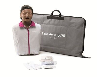 Laerdal Anne QCPR With Dark Skin - Adult QCPR Training Manikin NEW • 236.95£