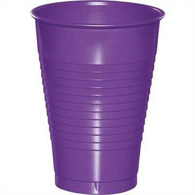 Amethyst Premium 12 Oz Plastic Cups 20 Pack Birthday Party Decoration • 2.78£