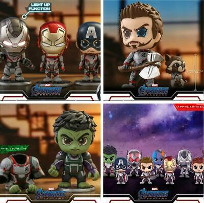 $ CDN95.31 • Buy Hot Toys Mini COSBABY Avengers: Endgame PVC Figure Bobble Head Collectible Gifts