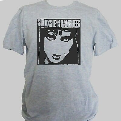 SIOUXSIE AND THE BANSHEES PUNK ROCK NEW WAVE T-SHIRT Unisex Grey S-3XL • 11.50£
