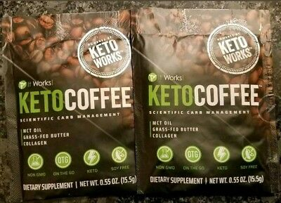 $14.99 • Buy IT WORKS/KETO COFFEE/SPEEDS  BODYS KETONE PRODUCTION To RAPIDLY BREAKDOWN FAT