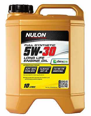 AU96.95 • Buy Nulon Full Synthetic Long Life Engine Oil 5W-30 10L SYN5W30-10 Fits Hummer H3...