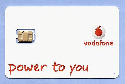 £0.99 • Buy Vodafone Pay As You Go Nano IPhone 5 5s 5c 6 Sim Card 4G Data Unlimted Minutes*