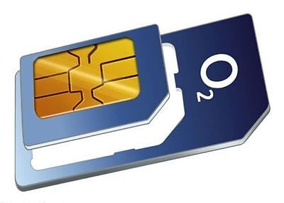 £0.99 • Buy Latest O2 Pay And As You Go IPhone 4 & 4s Micro Sim Card Unlimted Calls & Texts*
