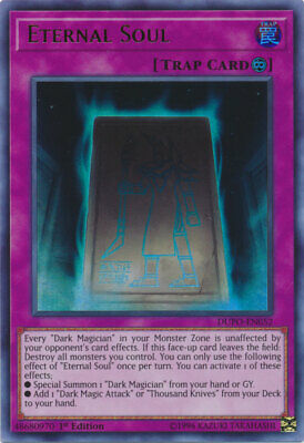 AU4.99 • Buy Yugioh Card - Eternal Soul *Ultra Rare* DUPO-EN052 (NM/M)