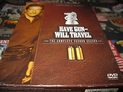 $10.95 • Buy Have Gun Will Travel - The Complete Second Season (DVD)