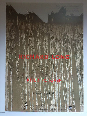 RICHARD LONG, 'River To River' Lithographic Exhibition Poster, 1993 • 94.99£