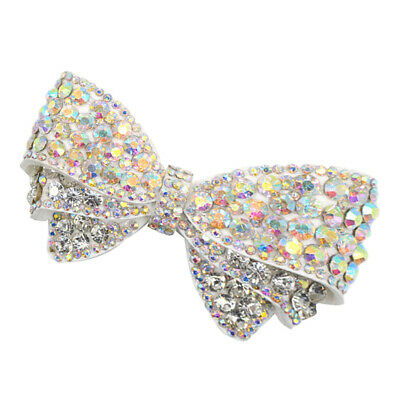 £3.63 • Buy Crystal Shoe Clips Charms Buckle Removable Butterfly Bow Shoe Hat Decoration
