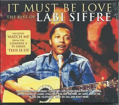 Labi Siffre - It Must Be Love - The Best Of / Greatest Hits 2CD NEW/SEALED • 6.98£