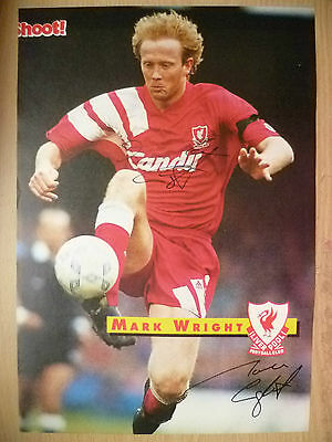 £9.99 • Buy Genuine Hand Signed Press Cutting Of Liverpool FC Player - MARK WRIGHT