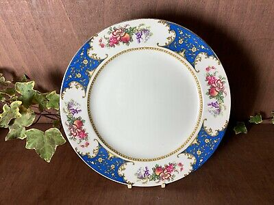 Vintage Sampson Bridgwood And Sons Floral Large 10.25  Dinner Plate 1930,s • 6.99£