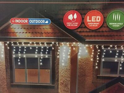 Snowing Icicles Lights 960 Led • 45£