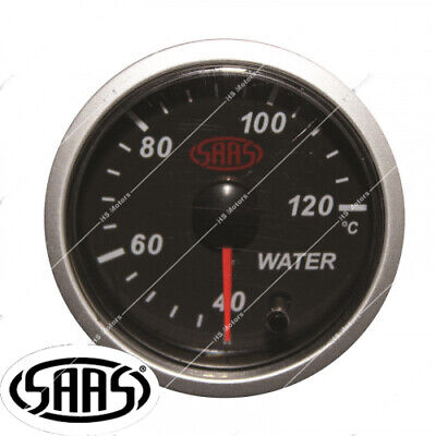 AU57.95 • Buy Saas 52mm Water Coolant Temperature Gauge + Sender Electric 40-120°c