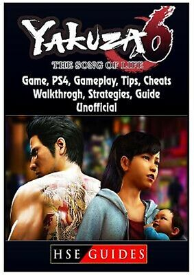 AU18.57 • Buy Yakuza 6 The Song Of Life Game, Ps4, Gameplay, Tips, Cheats, Walk By Guides, Hse