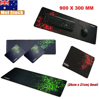AU18.99 • Buy Large Gaming Mouse Pad Desktop Mat Keyboard Pad PC Laptop Anti-slip Mat Razer