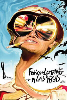 £6.50 • Buy Fear And Loathing In Las Vegas Key Art Maxi Poster Print 61x91.5cm | 24x36inches