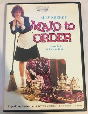 $18.66 • Buy MAID TO ORDER DVD Rare OOP Ally Sheedy Authentic Region 1 DVD VG+ W/ Insert