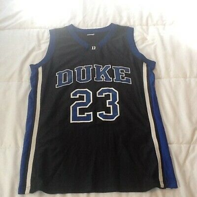 ff074aca79fd Duke Blue Devils Basketball Jersey By Russell Size Medium  FREE SHIPPING •  12.00