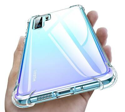 £3.20 • Buy Clear Case For Huawei P30 P30 Pro Y6 Slim TPU Shockproof Transparent Tough Cover