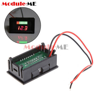 £1.68 • Buy Charge Level Baterry Level Indicator Voltmeter Stable For 12V Lead-acid Battery