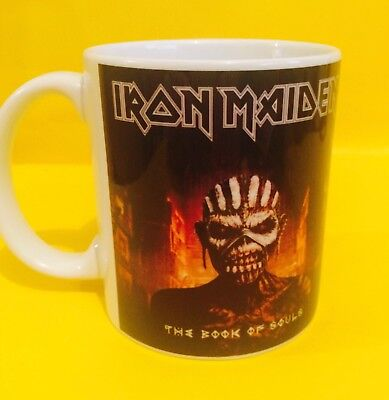 Iron Maiden The Book Of Souls 2015-album Cover On A Mug. • 8.99£