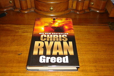 Greed By Chris Ryan-signed Copy • 14.50£