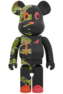 $3007.99 • Buy BE@RBRICK X Atmos X STAPLE #2 1000% Medicom Toy 2019 NEW From Japan