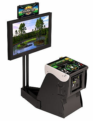 $4765 • Buy Golden Tee Live 2020   Factory UNIT NIB (without TV Mount). Factory Direct