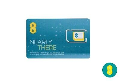 £0.99 • Buy Latest EE Pay And As You Go 5GB Data Pack Triple Cut Phone Sim - For IPhone