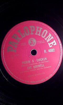 £3.75 • Buy Eve Boswell,10 78,pickin' A-chicken/blue Star, Parlophone (r.4082)