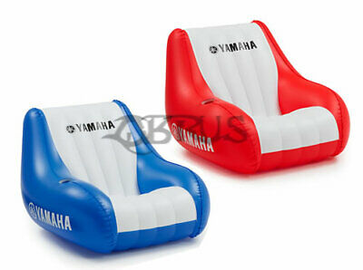 Genuine Yamaha Blue & Red PVC Inflatable Chair • 56.99£
