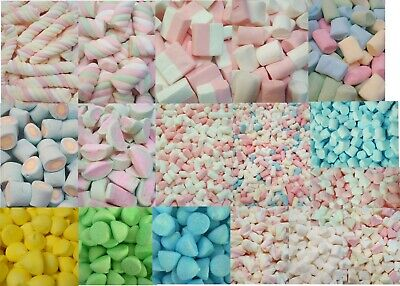 £6.73 • Buy Marshmallow Sweets Soft Shapes / Paintballs Choose From Many Shapes Size HALAL