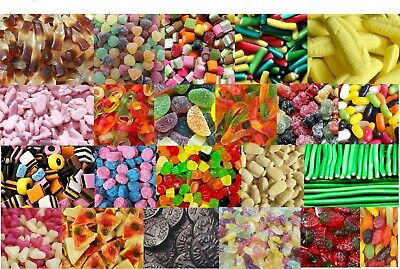£2.99 • Buy Traditional Gummy Jelly Foam Sweets Soft Chewy 52 Flavours HALAL