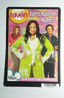 THAT'S SO RAVEN MAKEOVER MADNESS ART MINI POSTER BACKER CARD (NOT A Movie Dvd ) • 4.53£