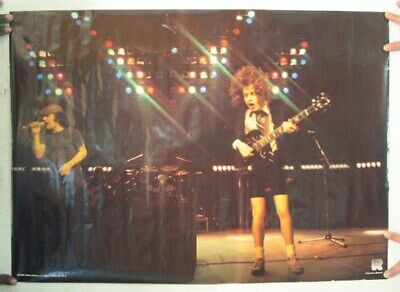 $99.99 • Buy ACDC Poster Brian And Angus Shot Concert AC DC AC/DC ACDC Vintage