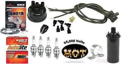$ CDN305.90 • Buy Electronic Ignition Kit & Hot Coil Ford 8N Tractor Side Mount Distributor