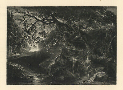 Samuel Palmer 1889  The Brothers Under The Vine  • 74.22£