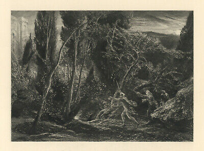 Samuel Palmer 1889  The Brothers Discovering The Palace Of Comus  • 74.68£