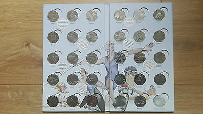 London 2012 Olympic Games Fifty Pence 50p Coins NO ALBUM • 94.95£