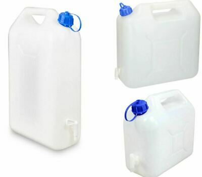 £10.79 • Buy Water Storage Containers 5/10/15L Litre Carrier Tap Spout Food Grade Jerry Can
