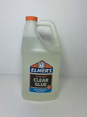 AU21.88 • Buy Elmers Liquid School Glue, Washable, 1 Gallon, 1 Count - Great For Making Slime