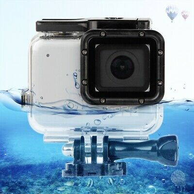 $ CDN14.60 • Buy GP452 Waterproof Case + Touch Back Cover For GoPro Hero 7 White / Silver