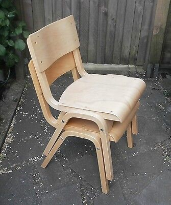 £29 • Buy Stacking Wooden School Chairs