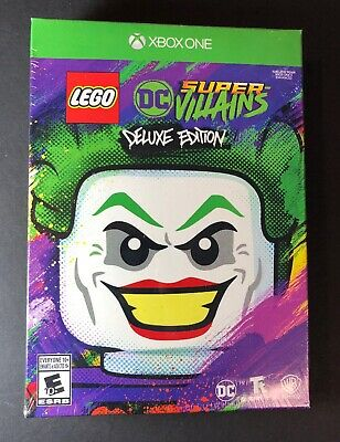 AU73.91 • Buy LEGO DC Super Villains [ Deluxe Edition ] (XBOX ONE) NEW